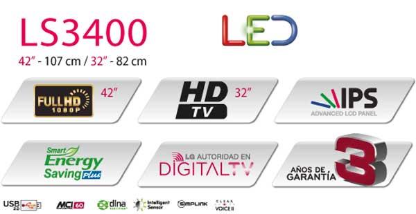 LED LG LS3400
