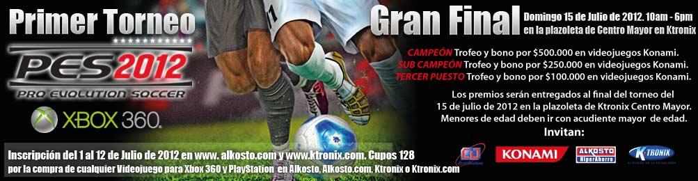 Primer Torneo PES 2012