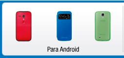 Protección para celulares android