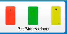 Protección para celulares Windows Phone
