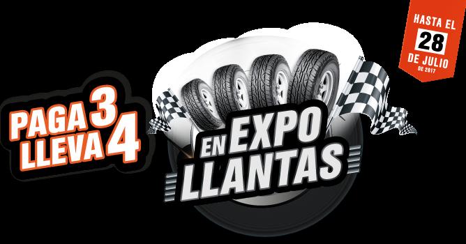logo expo llantas