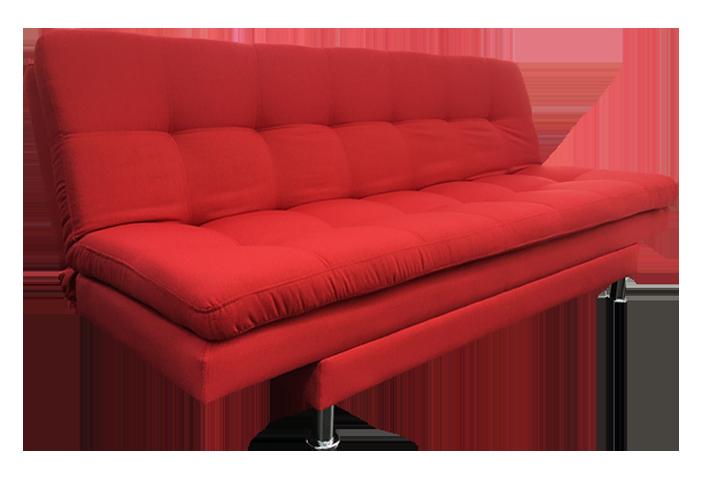 Sof cama tukasa venecia morat rojo for Sofa cama medellin