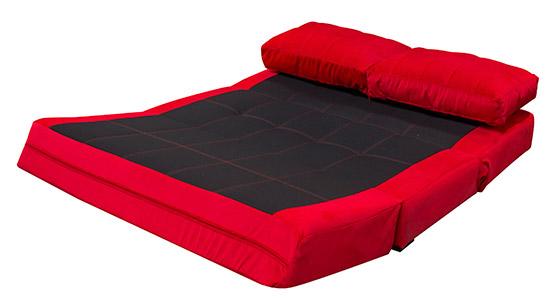 Sof cama espumados lazzo murano rojo alkosto tienda online - Sofa cama rojo ...