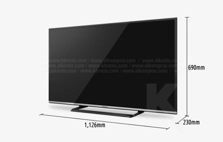 tv 50 127 cm led panasonic 50cs600 full hd internet. Black Bedroom Furniture Sets. Home Design Ideas