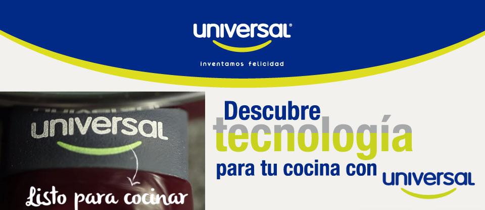 Descubre Tecnología para tu cocina con Universal
