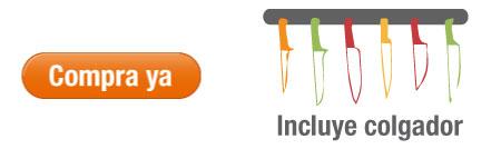 Compra aquí Set de Cuchillos OSTER Multicolor 7 Piezas