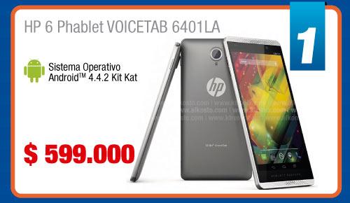 HP 6 Phablet VOICETAB 6401LA