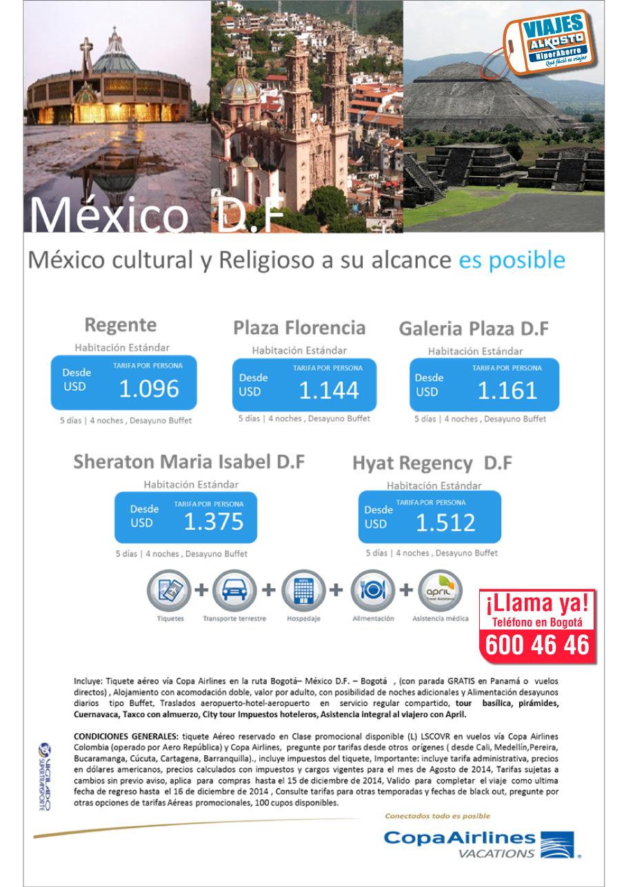 Viaje México con viajes alkosto