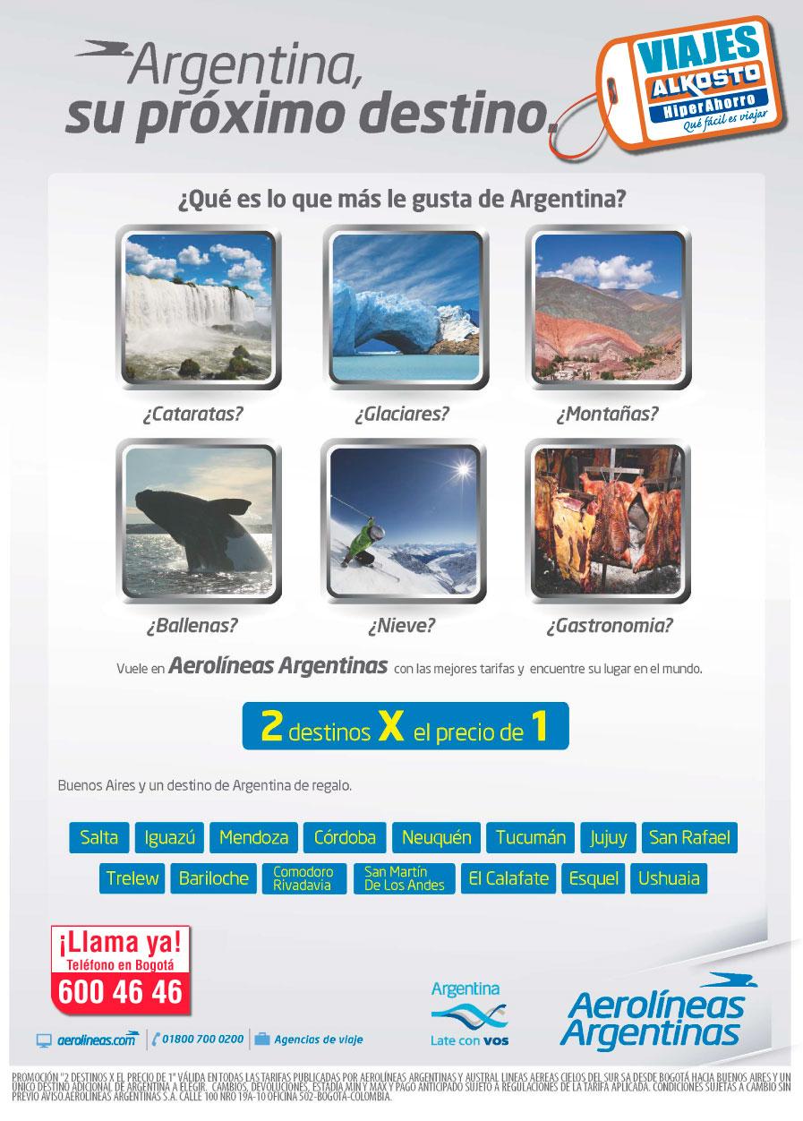 Viaje Argentina 2 destinos