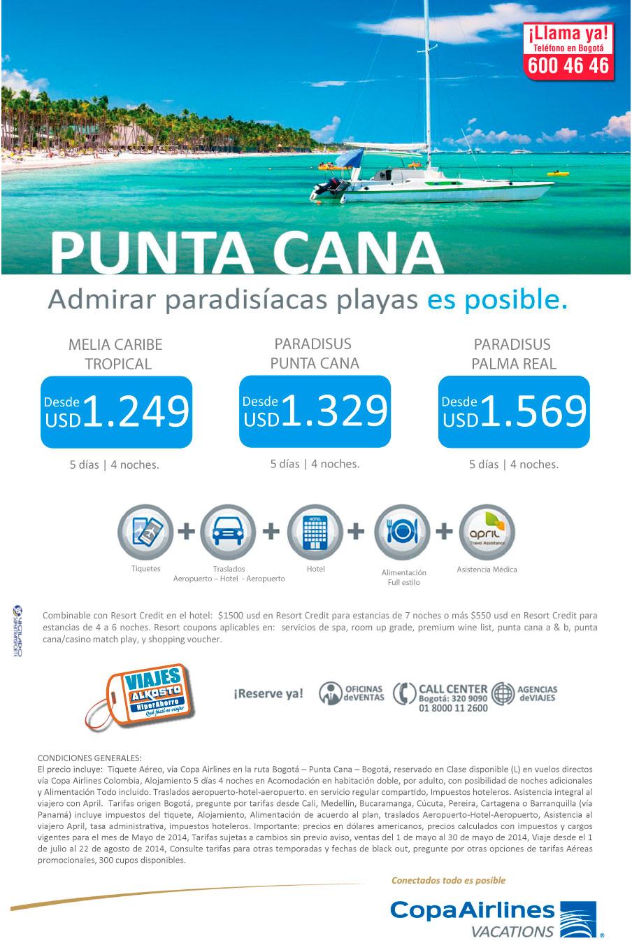 Viaje Punta Cana Alkosto