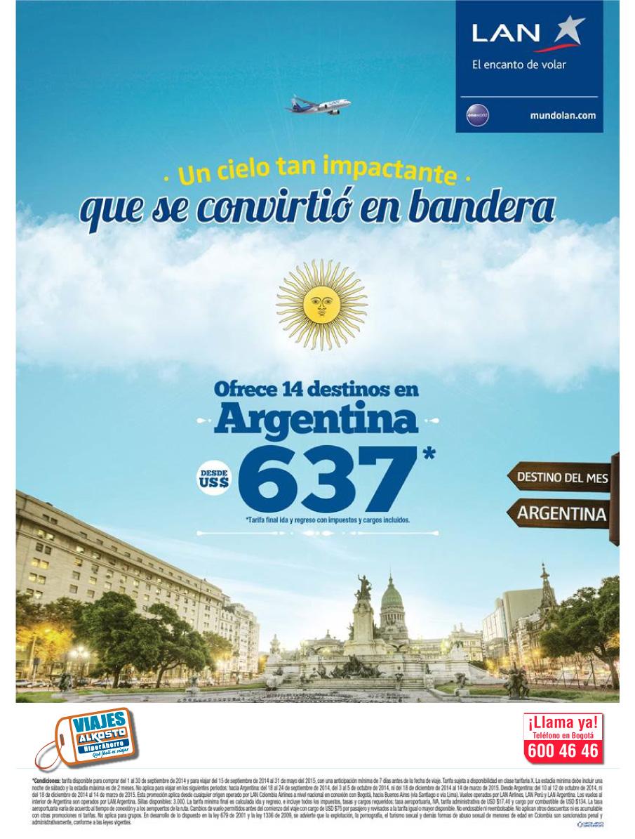 Viaje Argentina con viajes alkosto