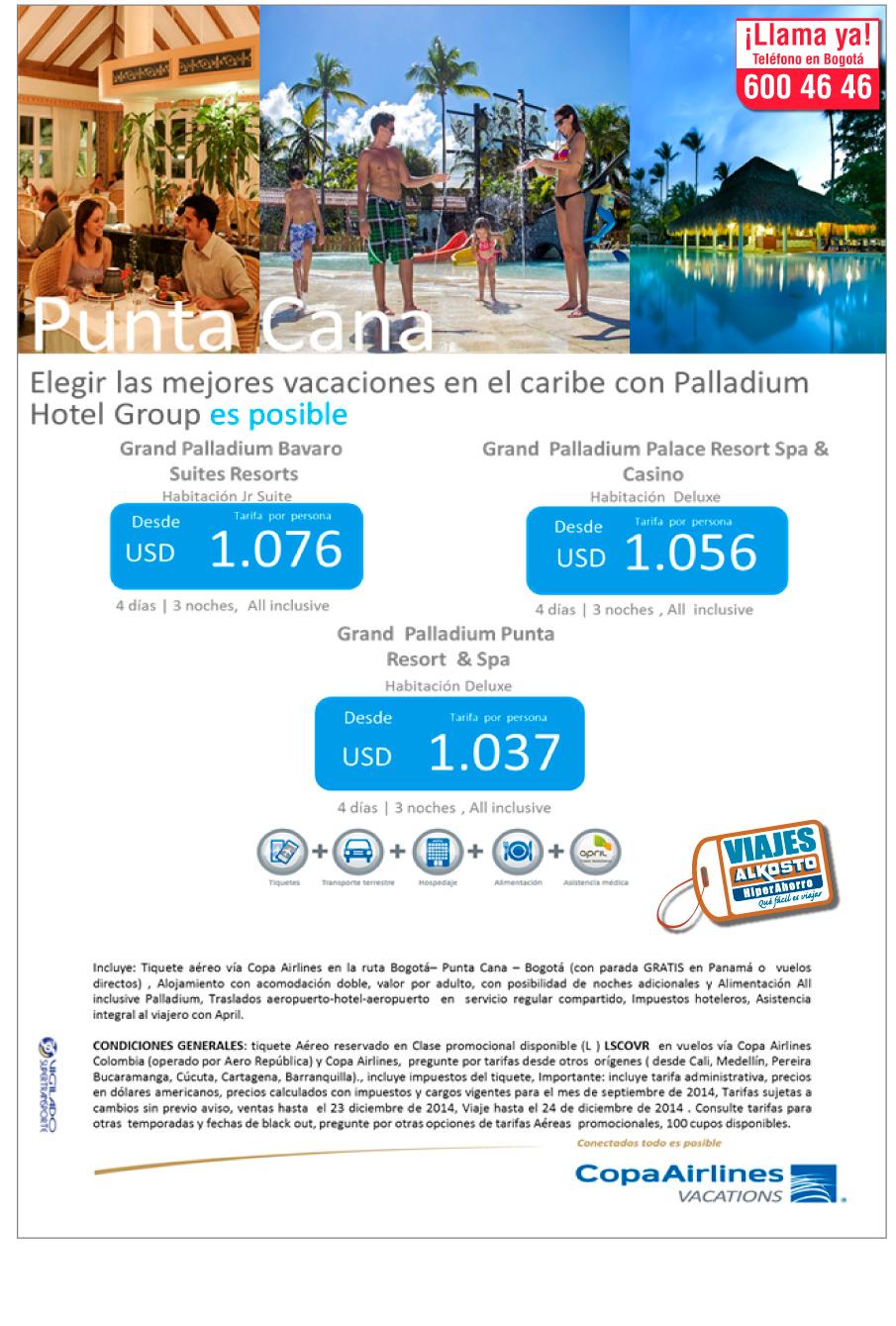 Viaje Punta Cana con viajes alkosto