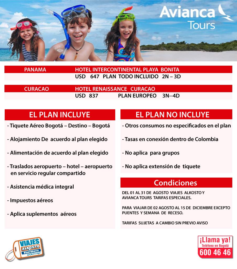 Viaje Panamá y Curacao