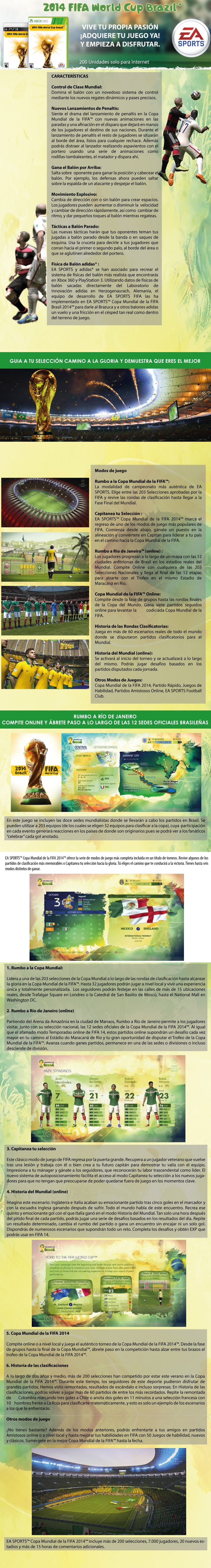 fIFA world Cup Road to Brasil 2014