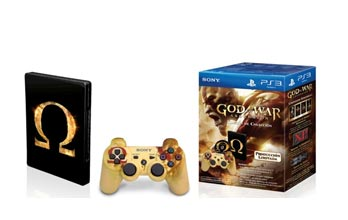 Control PS3 Edición Especial God Of War + God Of War Ascension