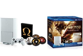 Kit consola God of War Ascension + 5 Juegos con la saga