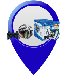 combo ps3 control world cup