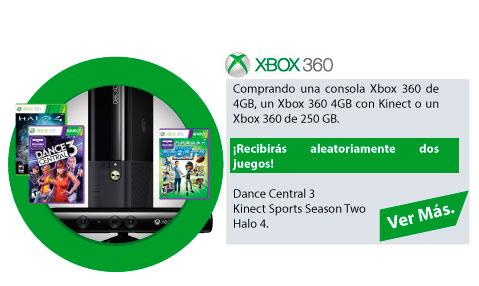 CONSOLA XBOX MAS DOS JUEGOS