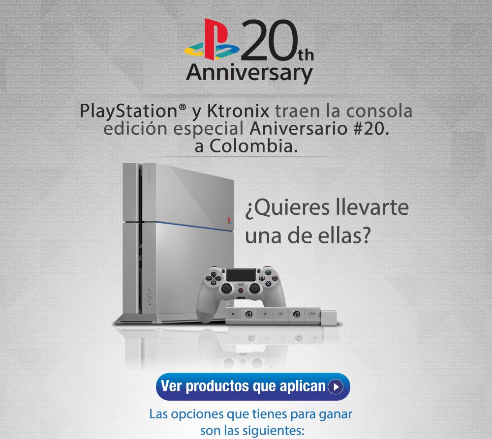 Rifa PS4 edicion especial Ktronix