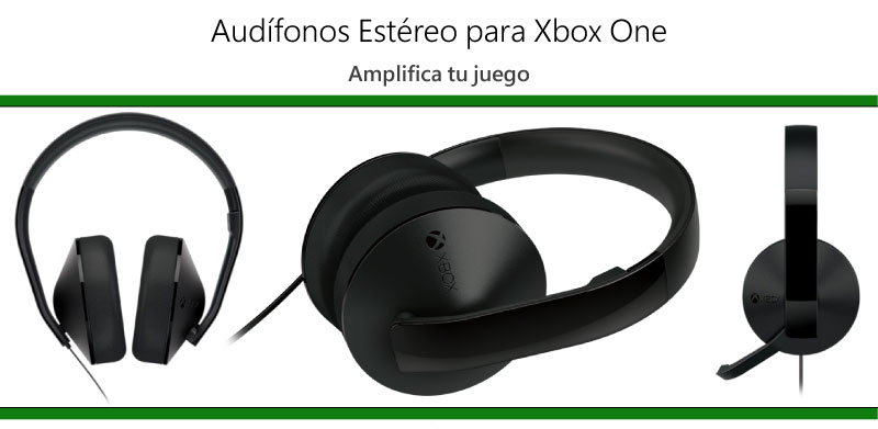 audifonos stereo xbox one