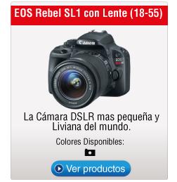 EOS Rebel SL1 con Lente (18-55)