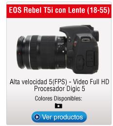 EOS Rebel T5i con Lente (18-55)