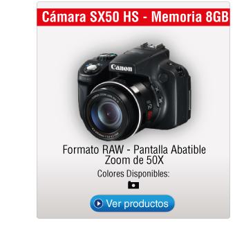 Cámara SX50 HS - Memoria 8GB