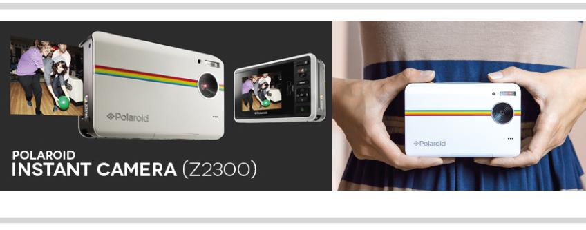 Cámara Instantanea Z2300  Polaroid POL-Z2300B