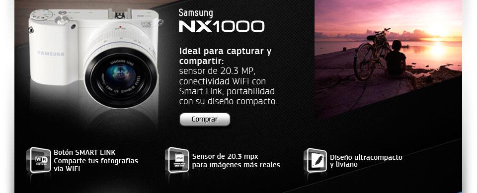 Cámara Samsung Smart NX1000