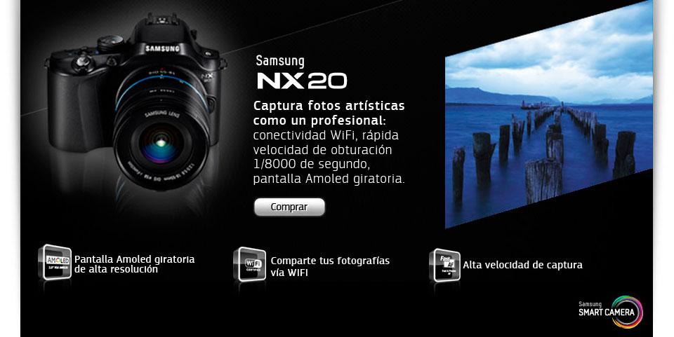 Cámara Samsung Smart NX20
