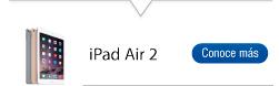 Encuentra aquí todas las referencias iPad Air 2