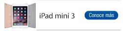 Encuentra aquí todas las referencias de iPad mini 3