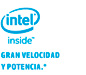 Intel inside gran velocidad y potencia