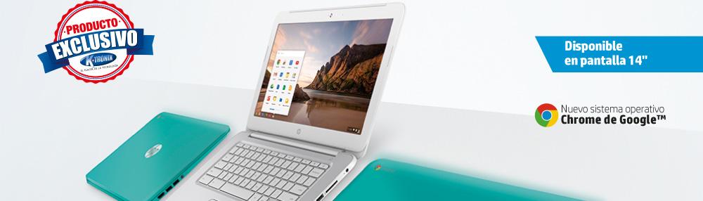 "Chromebook disponible en pantalla de 14"""