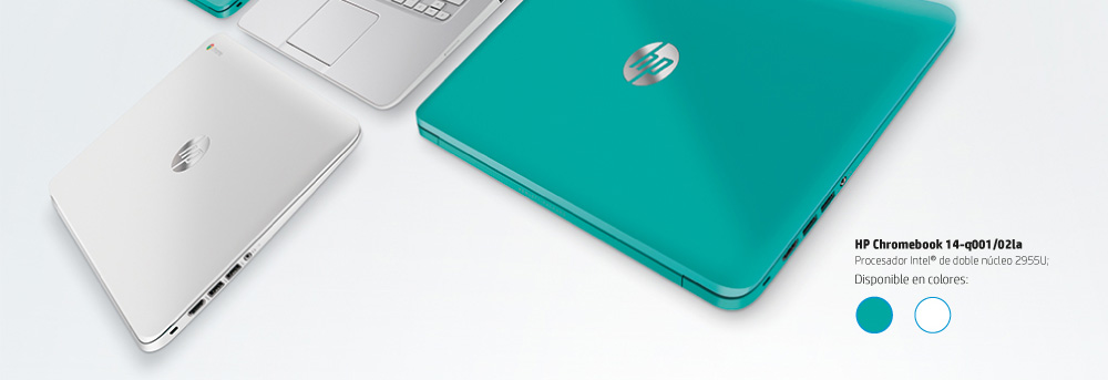 HP chromebook con procesador intel doble nucleo