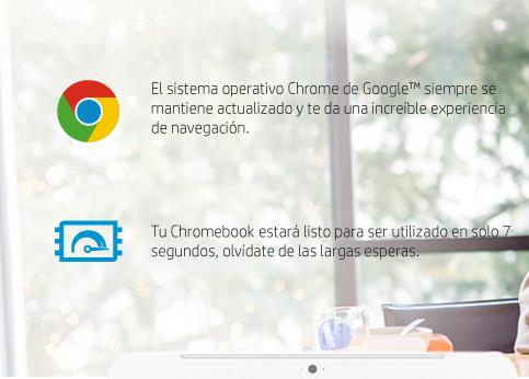 Sistema Operativo Chrome de Doogle mantiene actualizado y te da una increible exoeriencia de navegacion.
