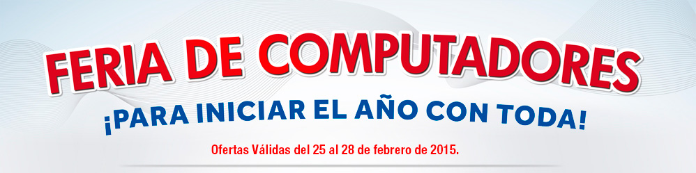 Feria de Computadores para iniciar bien el año