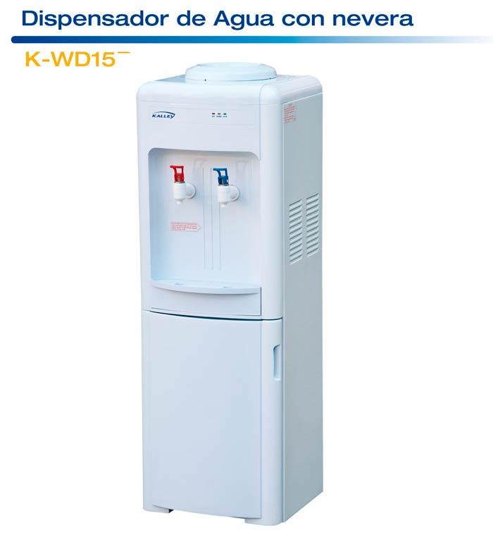 Dispensador de agua nev kalley k wd15r b alkosto tienda online for Dispensador agua fria media markt
