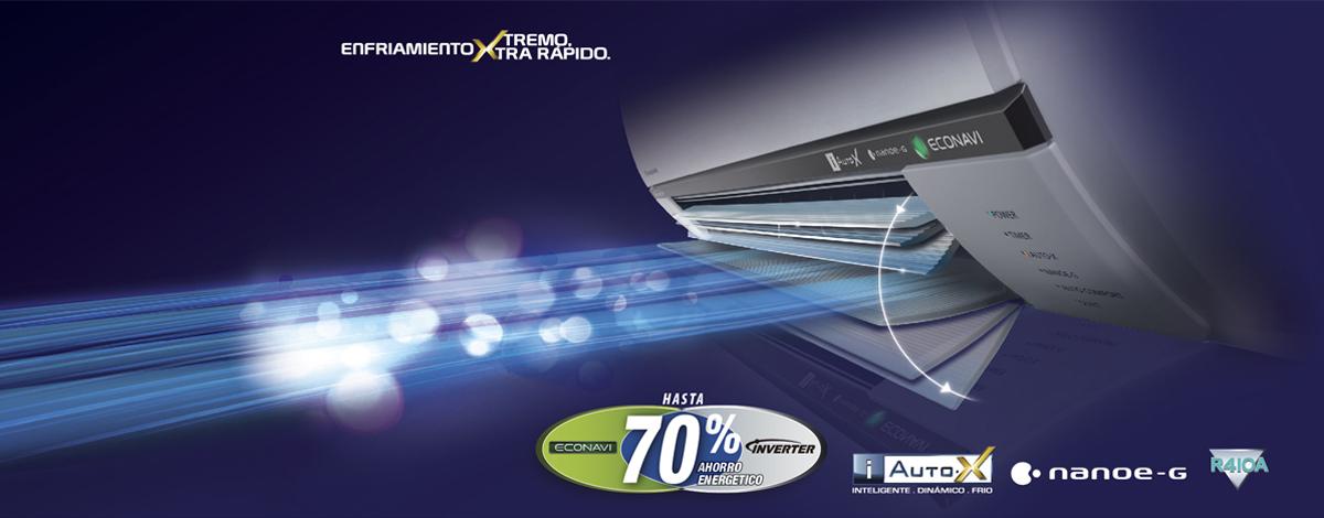 Aire acondicionado panasonic 12btu s12rkv 220v ktronix for Aire acondicionado portatil ansonic