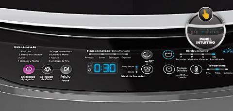 Lavadora whirlpool 14kg wwi14ashla gris alkosto tienda online for Funcion de la lavadora
