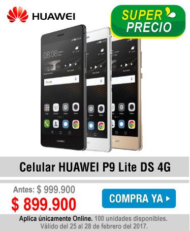 Celular HUAWEI P9 Lite DS 4G - banner oferta