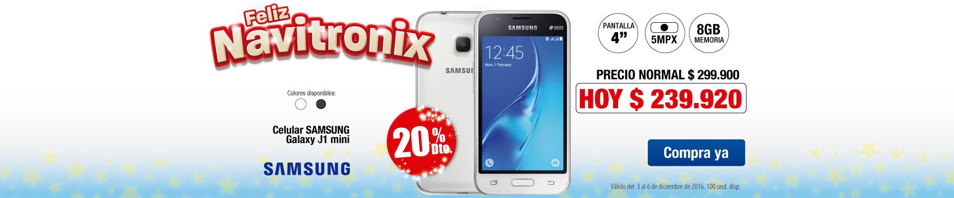 Celular Samsung Galaxy J1 mini - Ktx