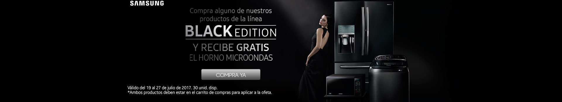 CAT ELECT - Pauta SAMSUNG BlanckEdition GRATIS Microondas - jul19