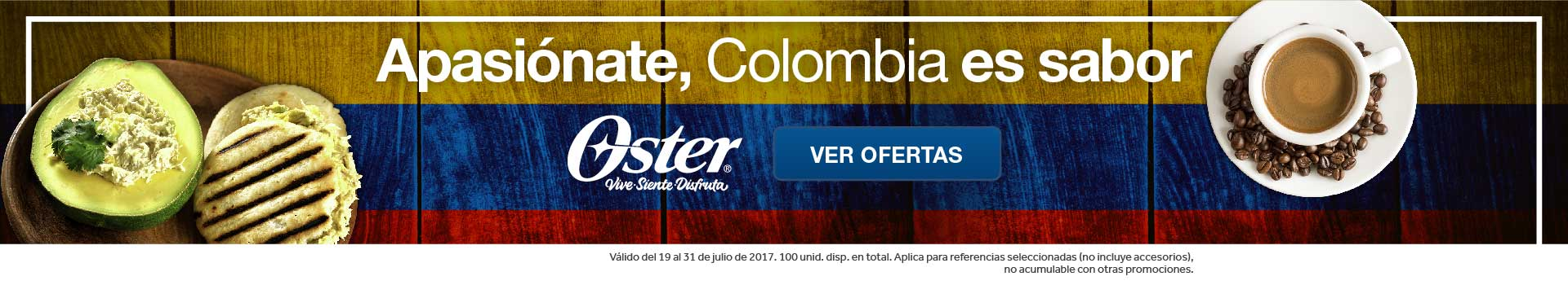 CAT ELECT - Pauta OSTER Colombia es sabor - jul19