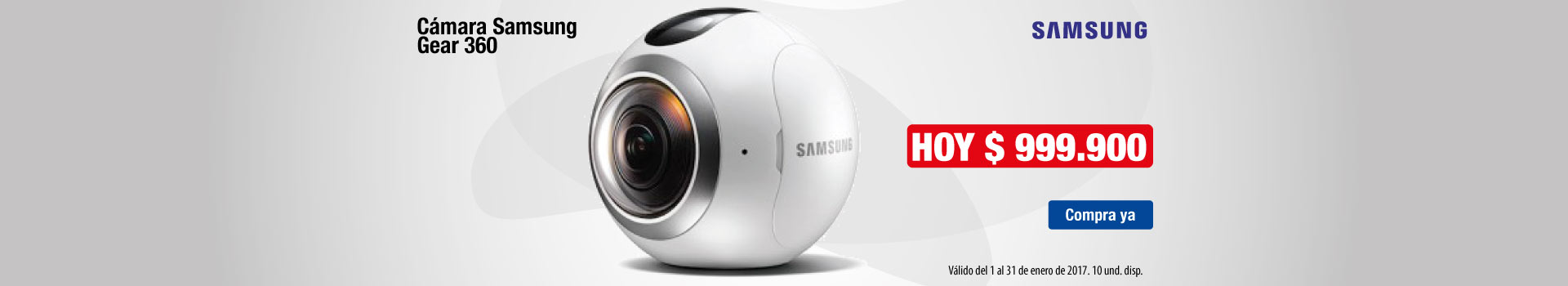 HIPER AK KT - Cámara SAMSUNG Gear 360 - Ene24