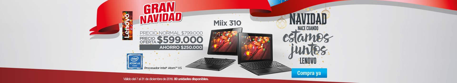 Categoría Convertibles 2 en 1 - diciembre 7 - Convertible 2 en 1 LENOVO Miix 310 10
