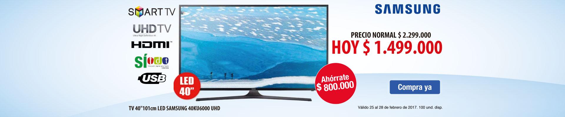 PPAL KT - TV 40KU6000 - FEB 25