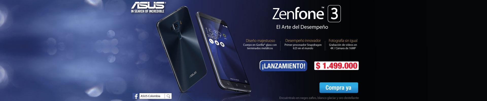 Celular Asus Zenfone 3 Ktx Ppla - Pauta Novi 30