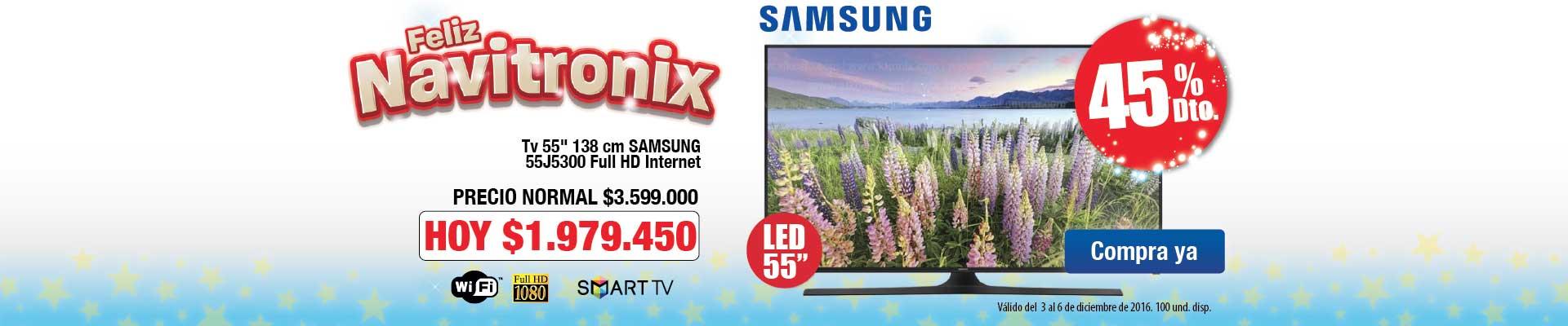 Samsung 55j5300 Home