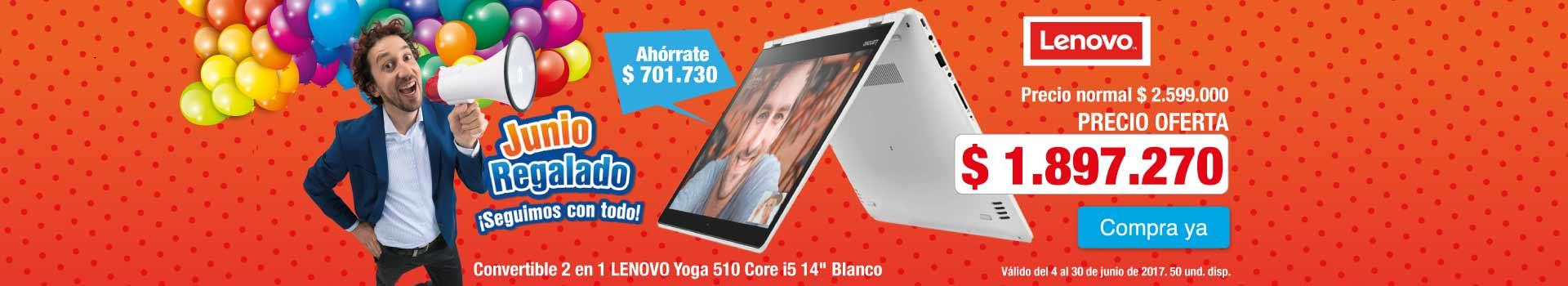 CAT AK INF - Convertible 2 en 1 LENOVO Yoga 510 Core i5 14